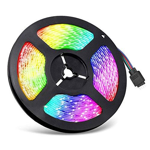 MJYT 5V USB LED Strip Lights TV Back Light 5050 RGB Color Change Bluetooth App Remote Home