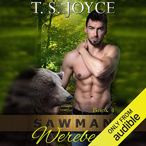Sawman Werebear audiobook cover art