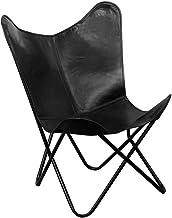 Armchair Leather Folding Chair Recliner Home Leisure Bedroom Backrest Lunch Break Lounger Sofa 74 X 66 X 90 cm,Black