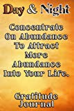 Day & Night Concentrate On Abundance To Attract More Abundance Into Your Life Gratitude Journal: Daily Affirmations Gratitude Notebook Journal for ... write in empowering, energizing Affirmations.