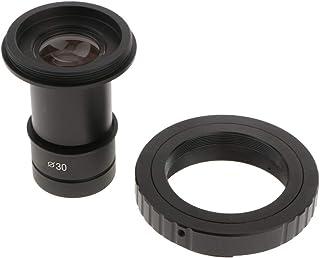 adattatore per fotocamera per smartphone per microscopio per tubo oculare per microscopio 23,2 mm oculare WF16 mm Moutec Adattatore per obiettivo per microscopio