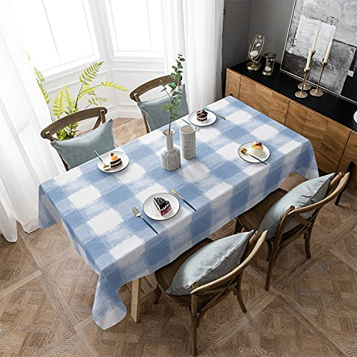 OUR WINGS Tablecloth Cotton Linen Table Cover 60'x104'...