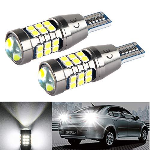 T15 W16W 12V 24V 921 912 5w LED CANBUS Error Gratuito Bombillas, Blanco 6500K, Para RV Luces Interiores, Coche LED Copia de seguridad Luz de Marcha Atrás Bombilla. 2 Piezas