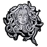 Hot Leathers Medusa Biker Motorcycle Embroidered 4 inch Patch