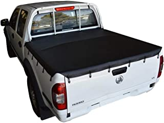 Nissan Navara D21 4WD, D22 4WD (Feb 1986 to 2001) Dual Cab with Headboard Bunji Tonneau Cover