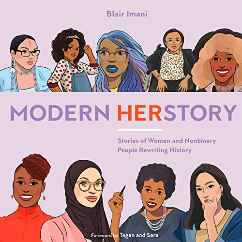 Modern HERstory audiobook cover art