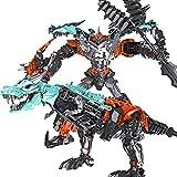 Lihgfw Handgefertigte Deformation Spielzeug Tyrannosaurus Rex Stahlseil Dinosaur King Kong Roboter erhöhen Modell Echte Kinder