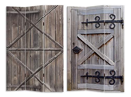 HTI-Line Paravent Gate Sichtschutz Spanische Wand Raumteiler