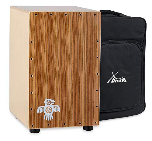 XDrum Cajón Peruana en madera de zebrano