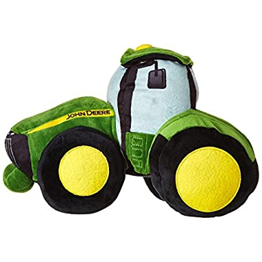 John Deere Tractor 12  x 9  x 9  Plush Pillow Buddy