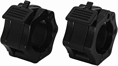 """ValueHall 2"""" Barbell Collars- Quick Release Set of 2 Weight Clamp Collar Clips Great for Professional Strength Training V7050"""