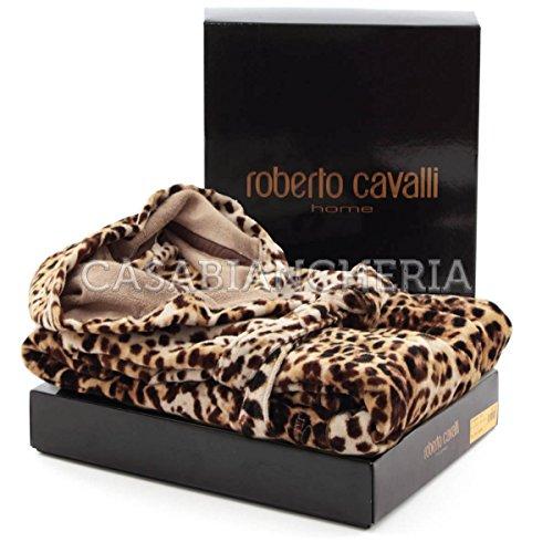 Preisvergleich Produktbild Roberto cavalli animalier luxusbademantel bravo s / m.