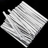 ABOAT Nasenleiste aus Metall, Aluminium, verstellbar, für Bastelprojekte, Nähzubehör