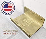 Door Dawg Paw Hands Free Hygienic Foot Operated Door Opener Made in USA Out of Brass 260 Known to Crush Viruses