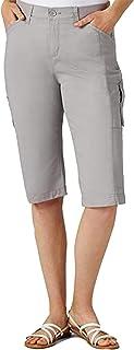 Lee Women's Plus Size Flex-to-go Relaxed Fit Utility Capri Pant