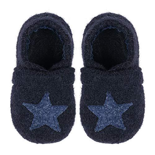 Nanga Baby Babyschuh Sternchen dunkelblau 22