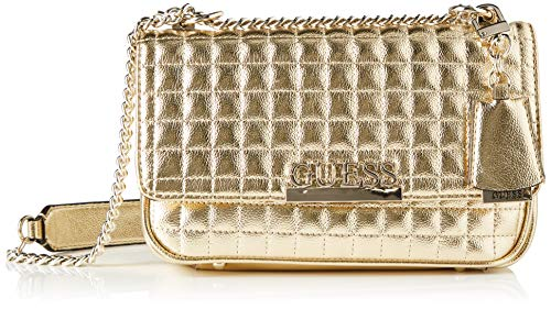 Guess Matrix Convertible XBODY Flap, Bags Crossbody Donna, Gold, One Size