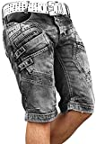 Redbridge Herren Jeans Shorts R31151 Grau W31