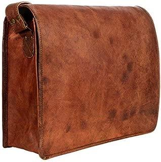 Paper High Men's Leather Courier/Messenger Bag
