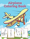 Airplane Coloring Book: Big Coloring Patterns for Kids Who Love Using Magic Marker, Felt-tip pen