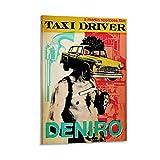 HAPPOW Taxi Driver 1976 Vintage-Filmposter, Leinwandkunst,
