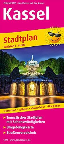 Kassel: Touristischer Stadtplan mit Sehenswürdigkeiten und Straßenverzeichnis. 1:14000 (Stadtplan / SP)