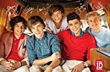 Trends International One Direction - Bus Wall Poster, 22.375' x 34', Premium Unframed Version
