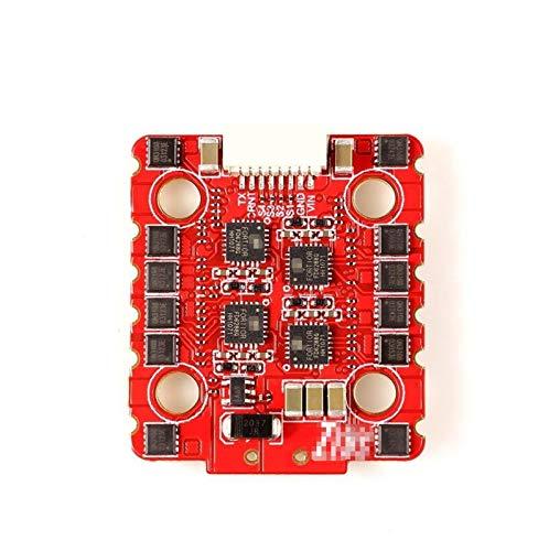 SHIZHI 20x20mm FIT FOR para HGLRC Zeus 30A 4IN1 3-6S BLHELI_32 ESC DSHOT1200 Ajuste para FPV Pack FPV Racing Freestyle Drones Piezas de Repuesto (Color : 2PCS)