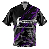 Logo Infusion Dye-Sublimated Bowling Jersey (Sash Collar) - I AM Bowling Fun Design 2007-HM - Hammer (Men's L)