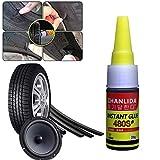 Crazywind Auto-Reifen-Werkzeug Reifenversiegeler, Schutz Pannenversiegelung Klebstoff für Auto-Reifenflicken-Reparatur