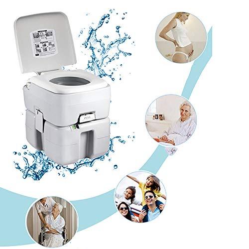 Sport Toilette Portatile WC Chimico Estraibili per Una Pulizia Anziani Donne Incinte