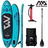 Aqua Marina Vapor 2019 Sup - Tabla de Surf (Hinchable), Board+SportIII Paddle