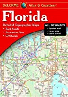 Florida Atlas & Gazetteer by Delorme Publishing(2016-09-05)