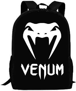 AHBNKM UFC-Venom Backpacks Zipper Backpacks Multi-Functional Backpacks Are Suitable For Girls, Boys, Children And Adults