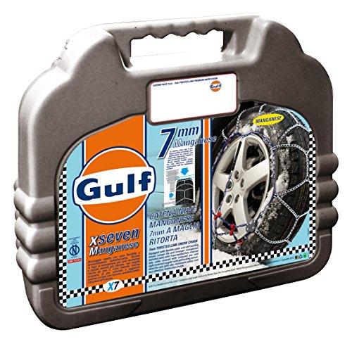 Gulf 76016 Catene neve 7 mm per auto, Misura 110