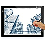 ESYNiC Mesa de Dibujo A4 LED Tablet con 3 Tipos de...