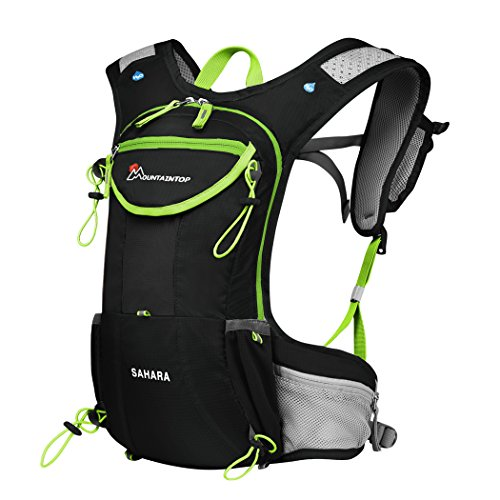MOUNTAINTOP Running Hydration Backpack for Hiking Biking Cycling Climbing Water Hydration Pack Race Vest