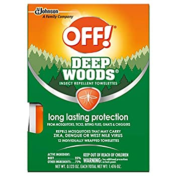 deep woods off towelettes