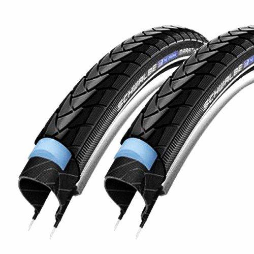 2x Schwalbe Fahrrad Reifen 35-406 Marathon Plus HS440 20x1.35 SmartGuard Reflex