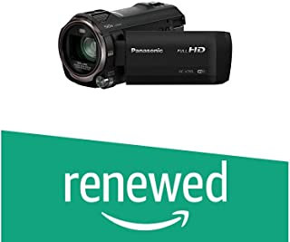 (Renewed) Panasonic HC-V785GW-K Consumer Camcorder (Black)