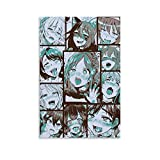Nuisx Ahegao Faces Anime Pop Art Comic Collection Art Printing Print Posters Poster Canvas Wall Art Print Decorative Painting Artwork 08x12inch(20x30cm)