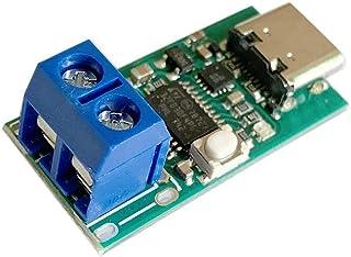 Type-CUSB-C PD2.0PD3.0からDCスプーフィング詐欺急速充電トリガーポーリング検出器USB-PDノートブック電源交換ボードモジュール(サイズ:端子台)