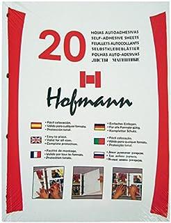 Paquete de 20 Hojas Autoadhesivas