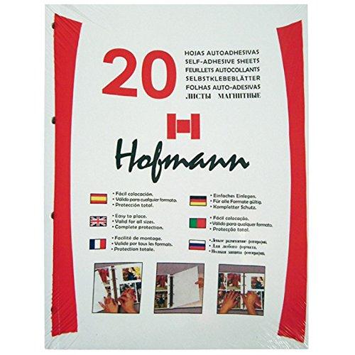 HOFMANN 9820 Paquete de 20 hojas autoadhesivas ⭐