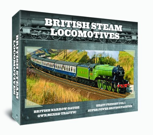 British Steam Locomotives 4 DVD GIFT SET [UK Import]
