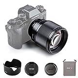 VILTROX 単焦点レンズ 中望遠レンズ XF-85mm F1.8 STM 二代目 瞳AF 富士フイルムXマウント用交換レンズ 手ぶれ補正対応 ポートレート X-T3 X-T2 X-T30 X-T20 X-T10 X-T100 X-PRO2 X-PRO3 X-S10 X-E3 X-A20 X-A5などに適用