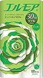 エルモア 花の香り ダブル2枚重ね ホワイト 30m 12ロール