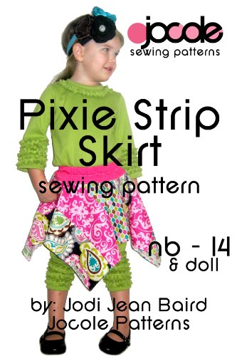 Pixie Strip Skirt - Sewing Pattern (English Edition)