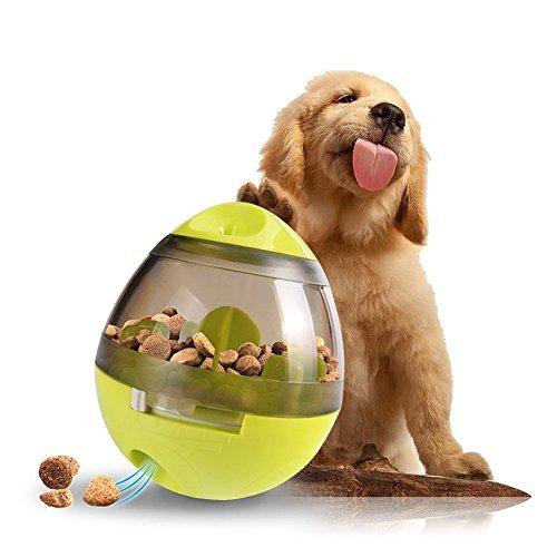 Hunde Futterball,Interaktives Hundespielzeug für Lebensmittelspender,Unzerstörbarer Becher behandeln Ballfür Trainingshund IQ