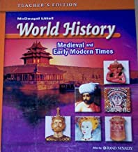 World History Medieval and Early Modern Times, Teacher's Edition